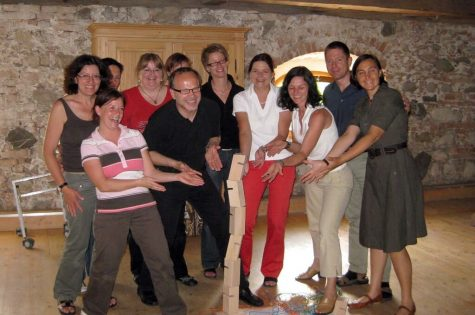 Teilnehmer*innen Lernwerkstatt bei Exkursion in Bad Tölz
